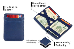Magic Wallet RFID Hunterson - Blue - 3