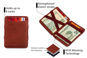Magic Wallet RFID Hunterson - Burgundy - 3