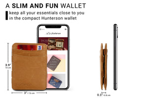 Magic Wallet RFID Hunterson - Cognac - 2