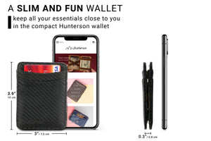 Magic Wallet RFID Hunterson - Carbon - 2