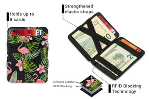 Magic Wallet RFID Hunterson - Flamingo - 3