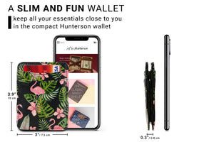 Magic Wallet RFID Hunterson - Flamingo - 2