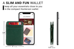Magic Wallet RFID Hunterson - Green - 2
