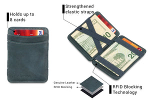 Magic Wallet RFID Hunterson - Grey - 3