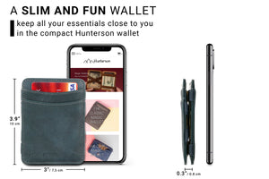 Magic Wallet RFID Hunterson - Grey - 2