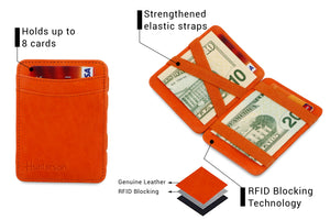 Magic Wallet RFID Hunterson - Orange - 3