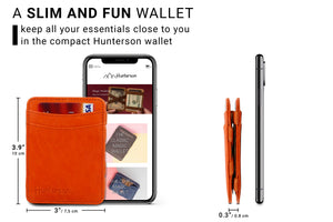 Magic Wallet RFID Hunterson - Orange - 2