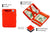 Hunterson Vegan RFID Magic Wallet - Paprika - 3