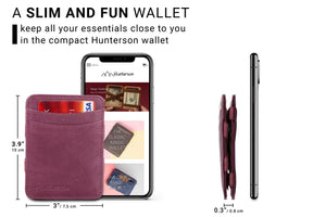 Magic Wallet RFID Hunterson - Purple - 2