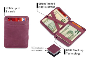 Magic Wallet RFID Hunterson - Purple - 3