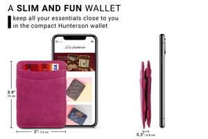 Magic Wallet RFID Hunterson - Raspberry - 2