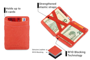 Magic Wallet RFID Hunterson - Terracotta - 3