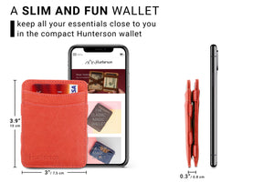 Magic Wallet RFID Hunterson - Terracotta - 2