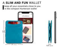 Magic Wallet RFID Hunterson - Turquoise - 2