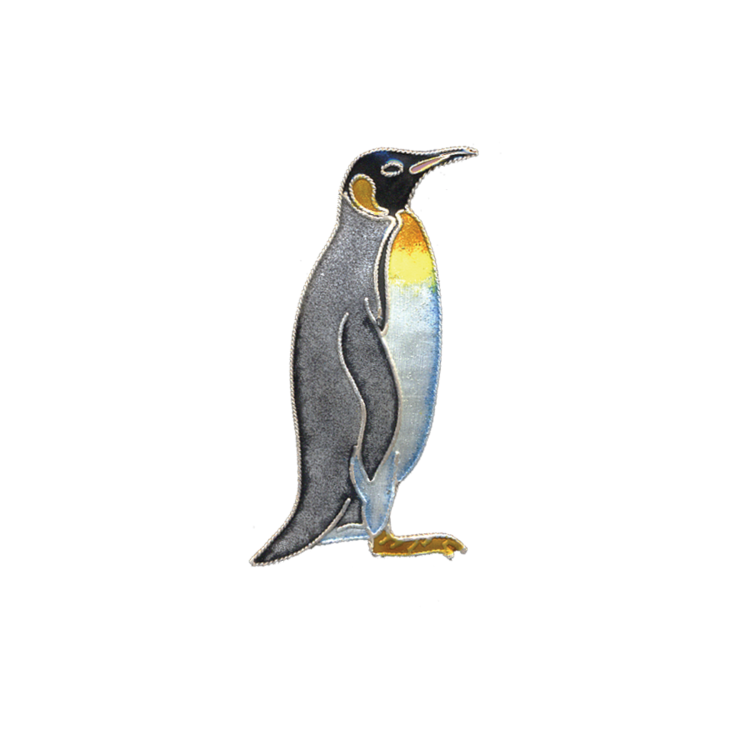 Pin King Penguins Enamel