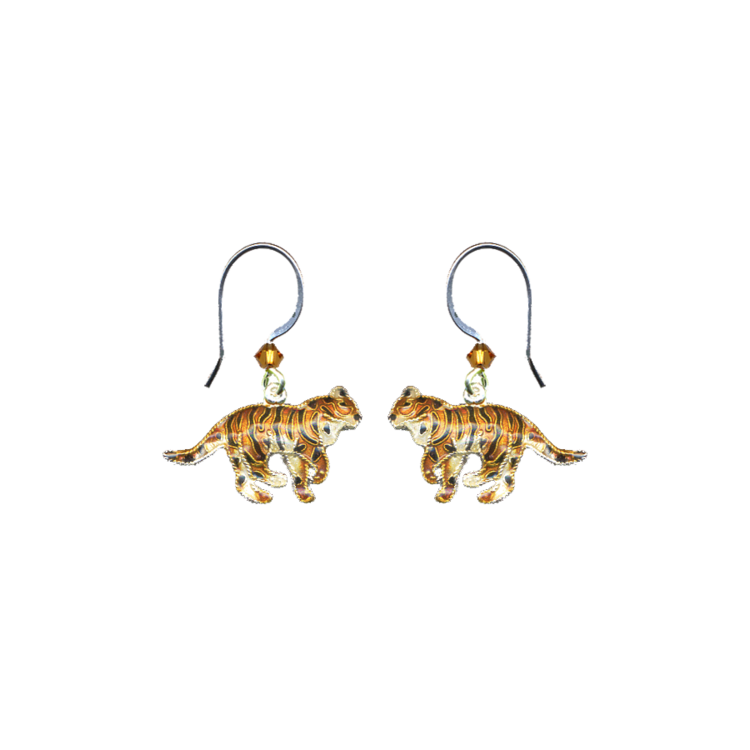ER Org Tiger Enamel Dangle