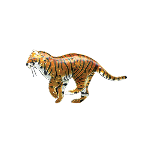 Pin  Org Tiger Enamel