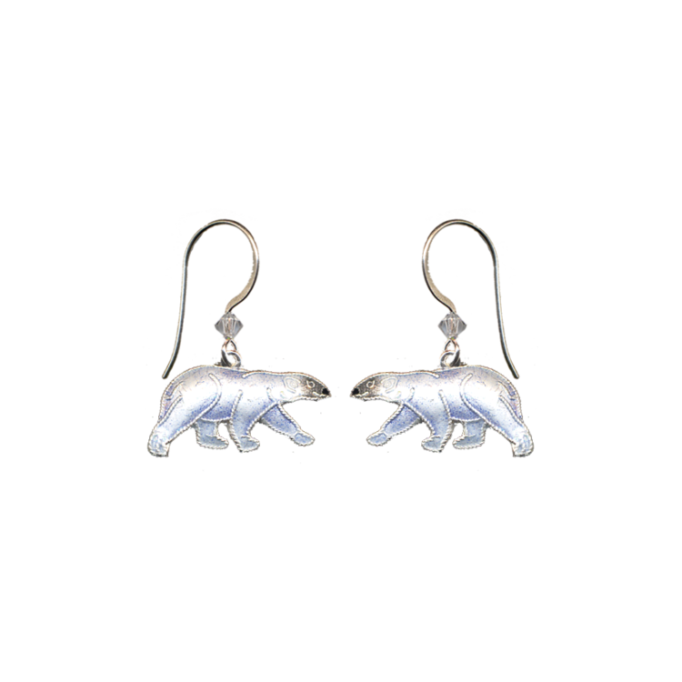 ER Polar Bear Enamel Dangle