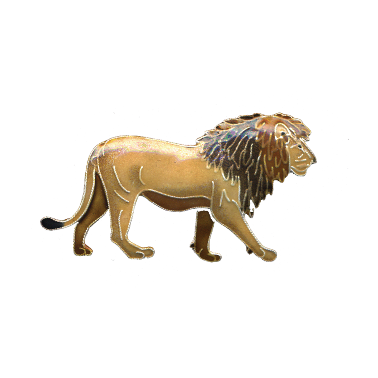 Pin Lion Enamel