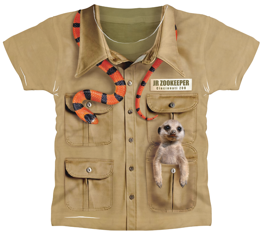Tee Tod Zookeeper Sublimated