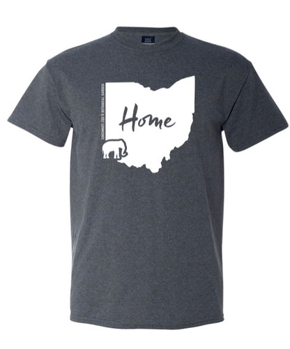Tee Retro More Home to Roam