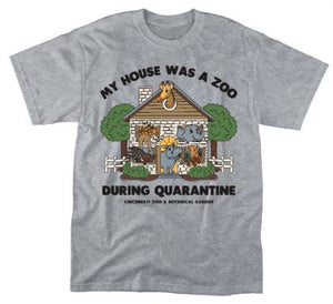ADULT HOME ZOO QUARANTINE TEE