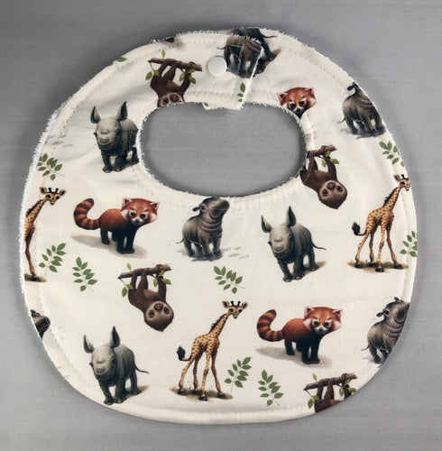 Bib Custom Zoo Babies