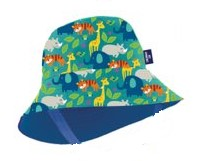 Hat Tod Bucket Print Blue Stac
