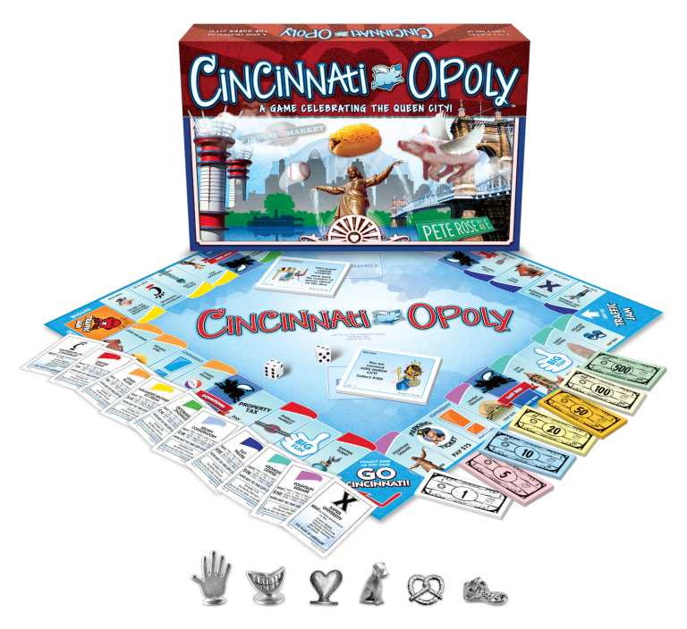 CINCINNATI-OPOLY GAME