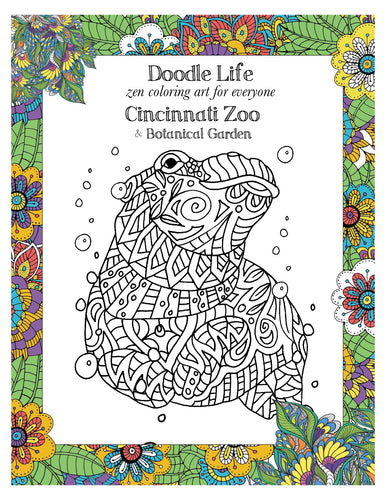 Coloring Book Cincinnati Zoo