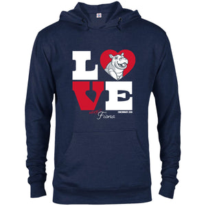 LOVE FIONA PULLOVER HOODIE 3XL