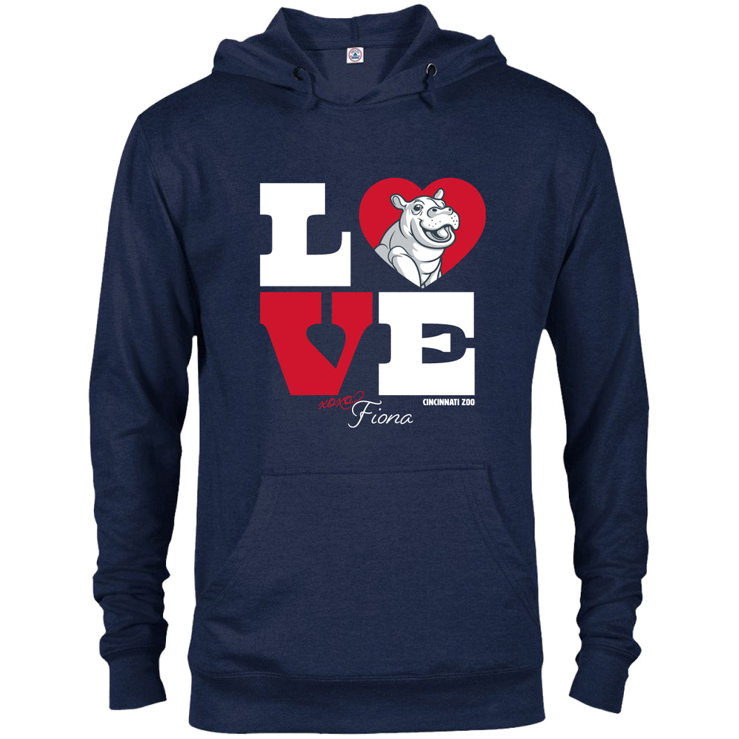 LOVE FIONA PULLOVER HOODIE 2XL