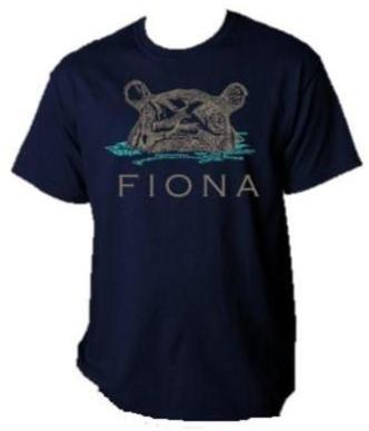 Tee Fiona Face Text