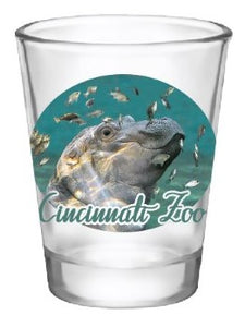 Shot Glass Fiona Swimming