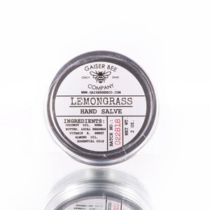Hand Salve: Lemongrass