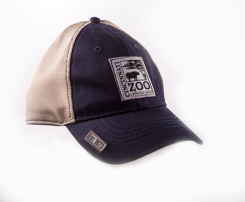 HAT BB LOGO PATCH NAVY/KHAKI