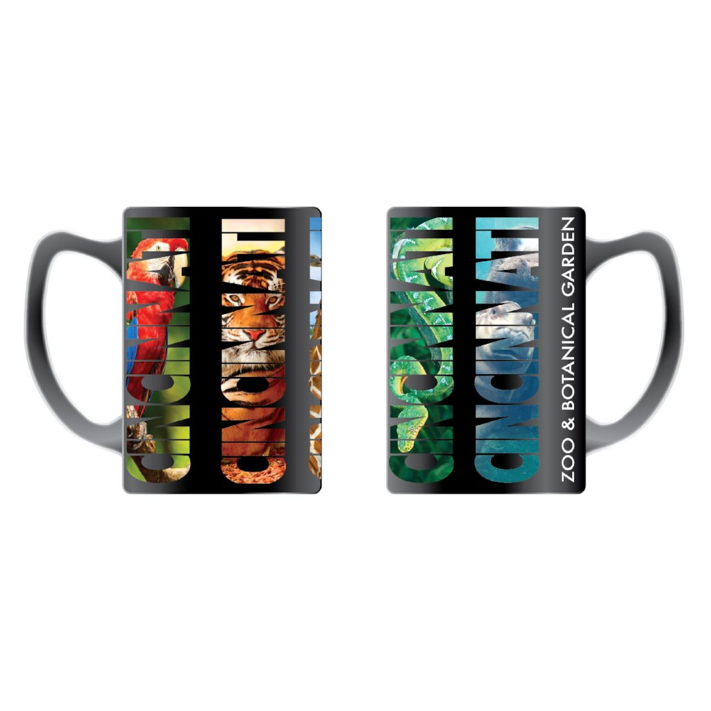 Mug CNZ Photo Text Black
