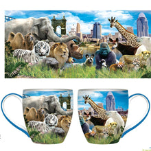 Mug Animal City Skyline