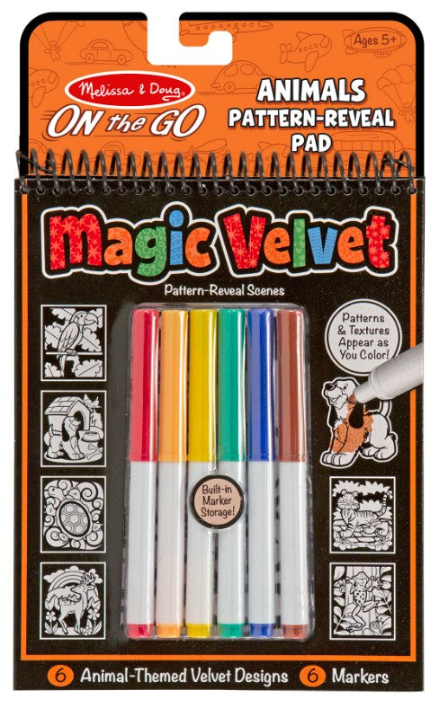 Magic Velvet Animal Scenes