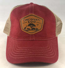 Hat BB Bedford Patch Red