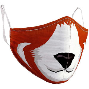 ADULT LARGE RED PANDA MASK