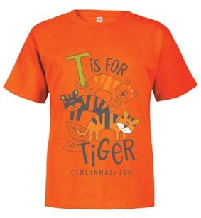 Tee Tod Stack Zoo Tiger