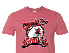 Tee Eagles Red Baseball