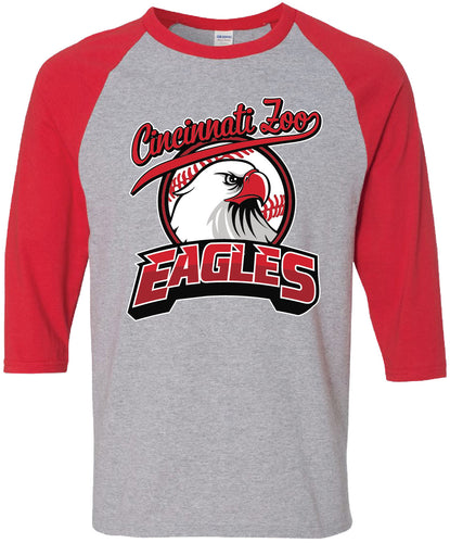 Tee BB Eagles Red Baseball