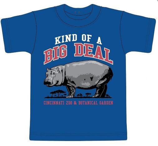 Youth Tee Big Deal Hippo