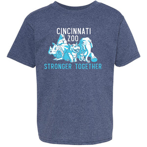 YOUTH TEE STRONGER TOGETHER