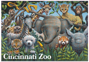 Zoo Babies Puzzle