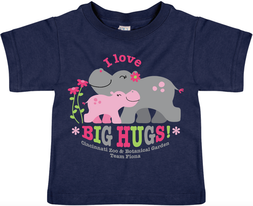 Tee Tdlr Hippo Big Hugs