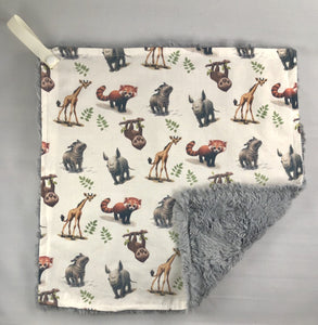 Luvie Blanket Custom Zoo Babie