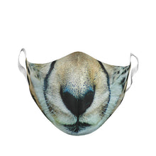 ADULT LARGE CHEETAH FACE MASK